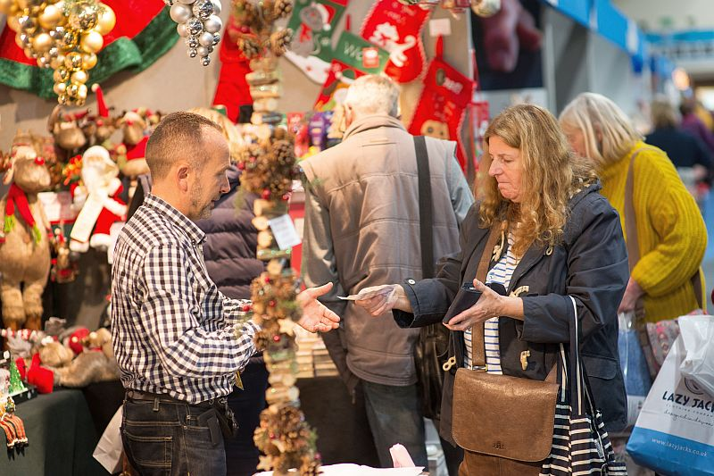 Book your stand at The Christmas Shopping Fayre
