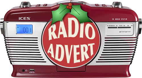 Listen to the Christmas Shopping Fayre's radio advert