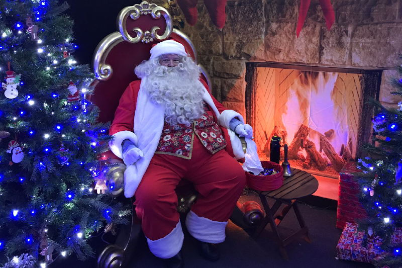 FREE Santa's Grotto at the Christmas Shopping Fayre in Exeter